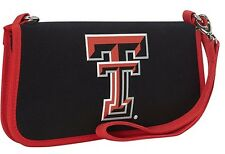 UK036: RC Texas Tech University Canvas Clutch Wallet