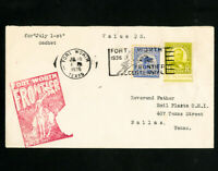 US Rare Clean F1 Cancelled Stamp Cover
