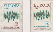 Europa CEPT 1972 Turkije 2253-2254 - Postfris MNH