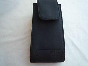 VINTAGE BLACK LARGE MOBILE PHONE FABRIC CASE