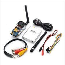 2000mw 5.8G Video Transmitter Receiver Set RC5808 FPV Surveillance Wireless Kit