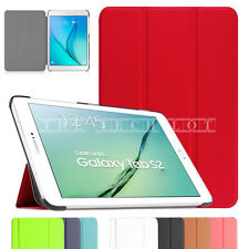 "Samsung Galaxy Tab Stand Slim Smart Case Cover For Tablet E 9.6"" T560 S2 T810 A"