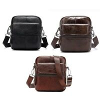 Mva Vintage Shoulder Borsa Business Casual Messenger Borsa In Pelle Valiget Q8Y5