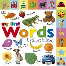 My First Words Let's Get Talking New Board book