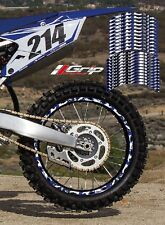 YAMAHA YZF YZ CAMO RIM STICKERS DECALS GRAPHIC TAPES 125 250 350 450