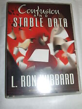 Confusion and Stable Data - - - L. Ron Hubbard Scientology  AUDIO CD