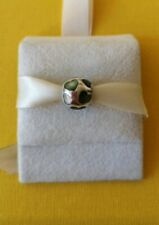 Pandora Rare Retired Charm, Mother of Pearl Hearts charm