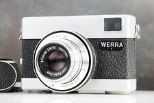 :Pentacon Werra 1 35mm Film Camera w/ Zeiss Tessar 50mm f2.8 Lens