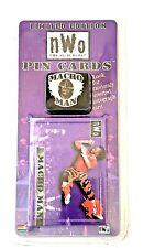 NWO Limited Edition VINTAGE Pin Card MACHO MAN Random Signature SEALED