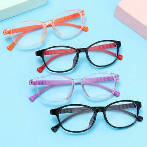 Anti Blue Light Kids Glasses Children Boys Girls Ultra Light Frame Eyeglasses UK