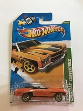 Treasure Hunt * 2012 Hot Wheels  '70 Chevy Chevelle Convertible #65