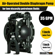 Air-Operated Diaphragm Pump Double 1'' Inlet & Outlet Petroleum Fluids 35Gpm