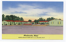 Chrome Montmartre Motel, Mojave CA, 1950s California