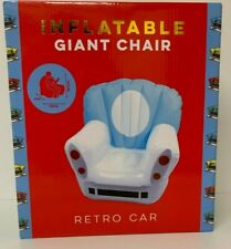 Inflatable Lounge Armchair Chair Rero Car Shaped 1 Adult Seat