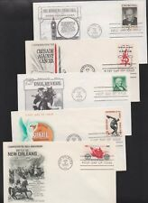 US FDC 1965 Year Set 21 First Day Covers All Cacheted All Unaddressed |