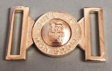 BRASS LION & CROWN MAZIC LOCKET BELT BUCKLE