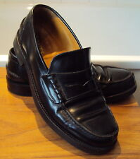 Jones the Bootmakers - Black Leather Loafers size 7.5