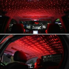Car USB Interior Atmosphere Star Sky Lamp Ambient Light LED RED Lazer Projector