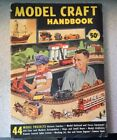 1952 Model Craft Handbook Volume 2 Trains Planes Boats Guns 44 Model Projects!