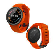 Motorola MOTO 360 2nd Gen 42mm Android Wear Flame - Orange Silicone Sport Band