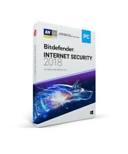 Bitdefender Internet Security 2018 - 3 PC/ 1-Year - CD
