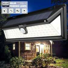 90LED Solarleuchte Solarlampe Außenleuchte Garten Wandlampe mit Bewegungsmelder
