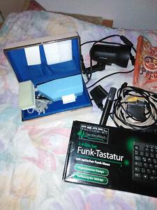 Trödelkiste neu und gebraucht Bsp. Radido-CD Rekorder,Tastatur,Funkuhr  usw.
