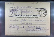 Camp Stalag IID Stargard 1940 POW Prisoner of War Kriegsgefangenenpost L31a