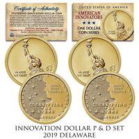 2019 S American Innovation $1 Reverse Proof  Delaware  19GE