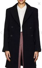 New Women's  FENDI WOOL COAT  FUR SIZE 42 Italy 8 US Large For Barneys $7,200