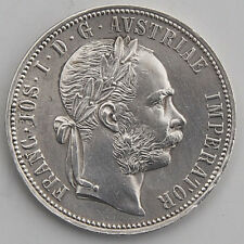 Österreich/Austria 1 Gulden/Florin 1884 Silber Franz Joseph vorzüglich