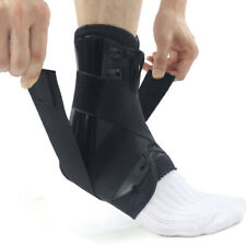 Ankle Lace-Up Support Brace Guard Injury Pain Stabilizer Achilles Tendon Pad S-L