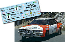 Decal 1:43 Mark Lovell - NISSAN 240 RS - Rally El Corte Ingles 1985