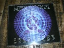 MESHUGGAH - selfcaged MAXI CD ´95 Nuclear Blast 1st edition Germany TRASH MATH M
