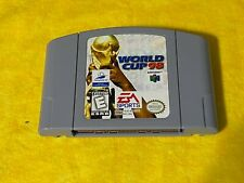 World Cup 98 (Nintendo 64, 1998)N64 Game Authentic Soccer