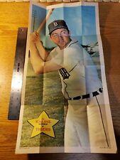1968 TOPPS Baseball Poster, Al Kaline No. 9