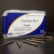 Carbide Burs RA 1/4 Clinic Pack 100-ct (Midwest Type Dental Bur)