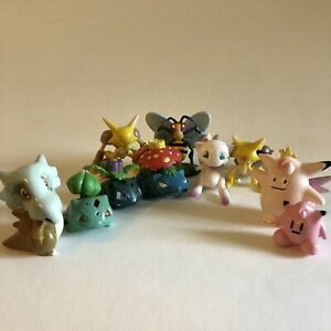 Pokemon 1998 Vintage 1st Generation Figures Tomy Auldey LOT OF 11 ! ORIGINAL !