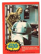 1977 Star Wars Series 2 Red O-Pee-Chee OPC Card #87