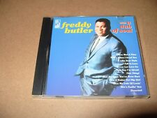 Freddy Butler - With A Dab Of Soul (CD 1997) 12 Track cd is Excellent +condition