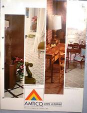 AMTICO Catalog American Biltrite Vinyl ASBESTOS Floor Tile Asphalt Flooring 1966