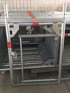 Vertikalrahmen Stahl  1,00m  x 0,73m für Layher und kompatibel neu