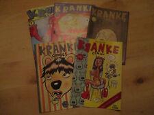 Kranke Comics 1 2 3 5 6  Klaus Cornfield  TOP erhalten