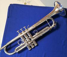 Bb-Trompete Carol Brass CTR-5000L-YST-S,  versilbert CoolTech behandelt