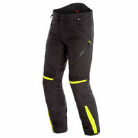 Dainese Tempest 2 D-Dry Motorcycle Textile Trouser Black / Black / Fluo Yellow