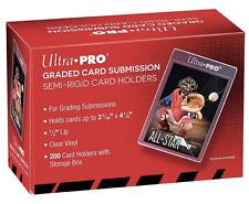 10 x Ultra Pro Graded Card Submission - Semi Rigid