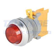 1pcs  Spia 30mm BA9S, lampadina IP65 -20÷60°C Ø30mm Colore rosso TELSTORE