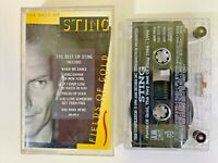 The Best Of STING | Fields Of Gold Album Cassette Tape 1994