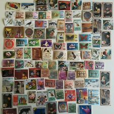 100 Different Bhutan Stamp Collection