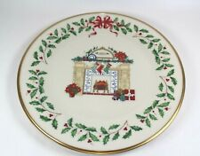 Lenox Annual Holiday Collector's Plate 1993 Fireplace with Original Box